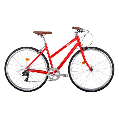 Фото - Велосипед Bearbike Amsterdam городской кол.:28 красный (RBKB0Y683001) городской велосипед elops 520