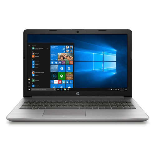 "Ноутбук HP 250 G7, 15.6"", Intel Core i5 1035G1 1.0ГГц, 16ГБ, 512ГБ SSD, Intel UHD Graphics , DVD-RW, Windows 10 Professional, 197T8EA, серебристый"