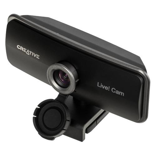 Фото - Web-камера CREATIVE Live! Cam SYNC 1080P, черный [73vf086000000] наушники с микрофоном creative aurvana live 2
