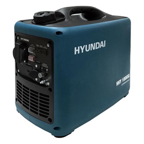 Бензиновый генератор HYUNDAI HHY 1000Si, 230 В, 1кВт бензиновый генератор hyundai hhy 5020fe 230 в 4 5квт