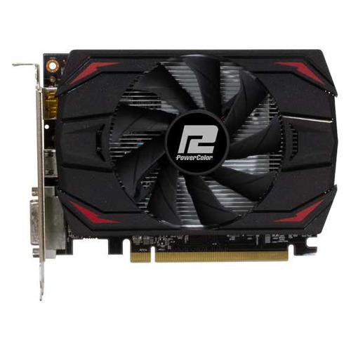 Видеокарта POWERCOLOR AMD Radeon RX 550 , AXRX 550 2GBD5-DH, 2ГБ, GDDR5, Ret