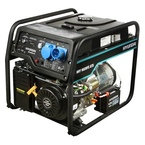 Бензиновый генератор HYUNDAI HHY 9020FE ATS, 230 В, 6.5кВт бензиновый генератор hyundai hhy 5020fe 230 в 4 5квт