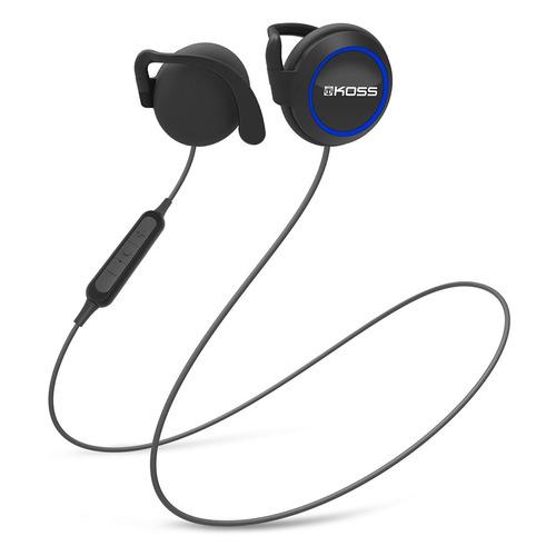 Наушники с микрофоном KOSS BT221iK, Bluetooth, накладные, черный [15120109]