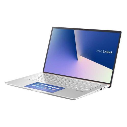 Ноутбук ASUS Zenbook UX434FLC-A5290T, 14, IPS, Intel Core i5 10210U 1.6ГГц, 16ГБ, 512ГБ SSD, NVIDIA GeForce MX250 - 2048 Мб, Windows 10, 90NB0MP6-M11890, серебристый ноутбук asus zenbook ux392fn ab006r 13 9 ips intel core i7 8565u 1 8ггц 16гб 512гб ssd nvidia geforce mx150 2048 мб windows 10 professional 90nb0kz1 m01290 голубой