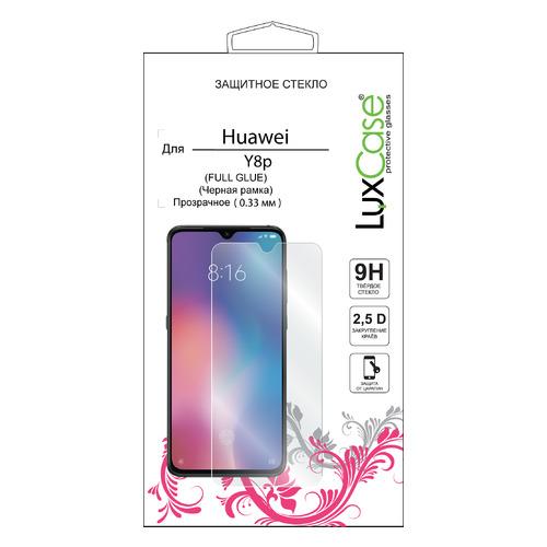 Защитное стекло для экрана LuxCase для Huawei Y8p, прозрачная, 1 шт [78357]