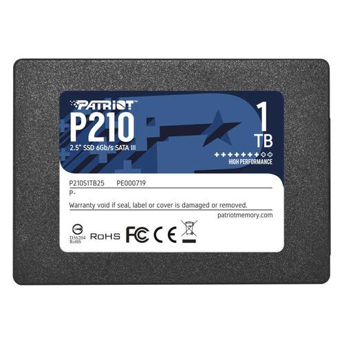 SSD накопитель PATRIOT P210 P210S1TB25 1ТБ, 2.5