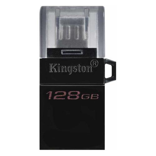 Фото - Флешка USB KINGSTON DataTraveler microDuo 3 G2 128ГБ, USB3.0, черный [dtduo3g2/128gb] внеклассное чтение 4 кл