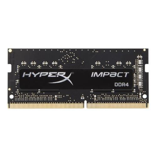 Модуль памяти KINGSTON HyperX Impact HX426S15IB2/8 DDR4 - 8ГБ 2666, SO-DIMM, Ret
