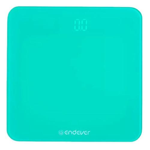 цена на Напольные весы ENDEVER Aurora-601, до 180кг, цвет: зеленый [80909]
