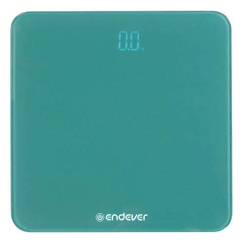 Напольные весы Endever Aurora-602, до 180кг, цвет: голубой [80910] 602 aurora электронные напольные весы endever