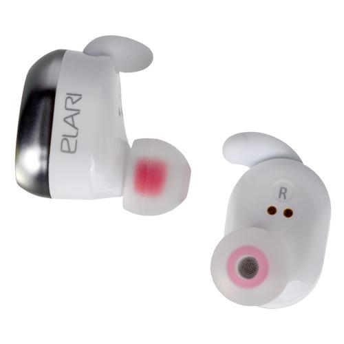 Фото - Гарнитура ELARI NanoPods II, Bluetooth, вкладыши, белый [hm2065m] беспроводные наушники elari nanopods 2 white