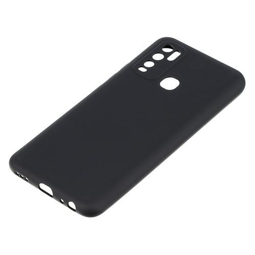Чехол (клип-кейс) DF oOriginal-01, для Vivo Y30, черный [df voriginal-01 (black)](oOriginal-01)