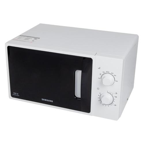 Фото - Микроволновая печь SAMSUNG ME81ARW/BW, 800Вт, 23л, белый микроволновая печь samsung ge 83krw 1 bw