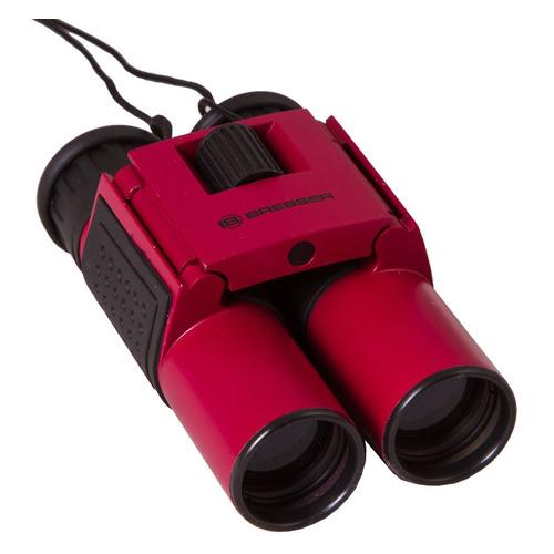 Фото - Бинокль BRESSER Topas, 10 x 25, Roof, красный [69354] бинокль bresser брессер topas 10x25 green