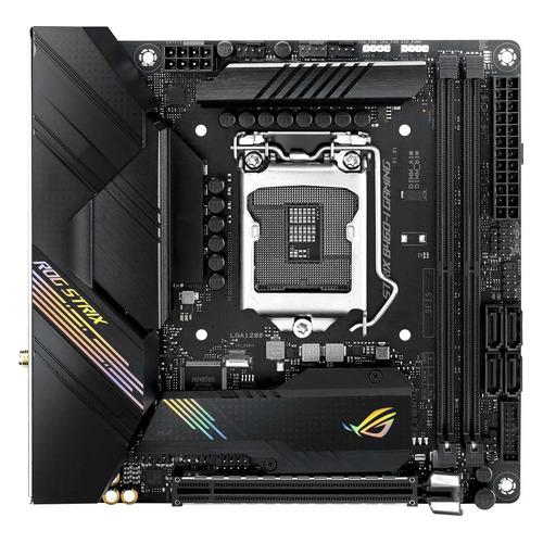 Материнская плата ASUS ROG STRIX B460-I GAMING, LGA 1200, Intel B460, mini-ITX, Ret