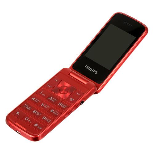 Мобильный телефон PHILIPS Xenium E255, красный