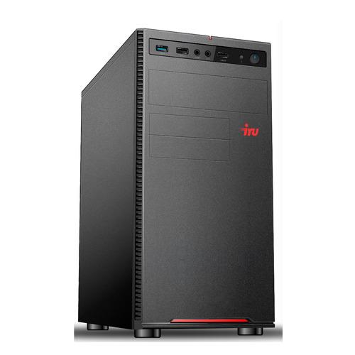 Компьютер IRU Home 312, Intel Pentium Gold G5420, DDR4 4ГБ, 1ТБ, Intel UHD Graphics 610, Free DOS, черный [1395638] компьютер