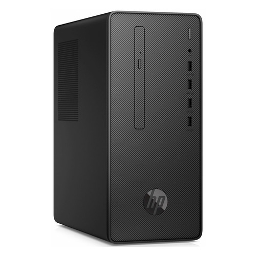 Компьютер HP Desktop Pro G3, Intel Core i3 9100, DDR4 8ГБ, 256ГБ(SSD), Intel UHD Graphics 630, DVD-RW, Windows 10 Professional, черный [9dp42ea]