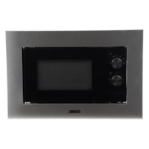 Микроволновая Печь Zanussi ZMSN5SX 17л. 700Вт нержавеющая сталь/черный (встраиваемая)