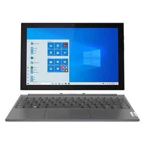 Планшет-трансформер LENOVO IdeaPad Yoga Duet 3, 8ГБ, 128GB, Windows 10 Professional серый [82at004dru]