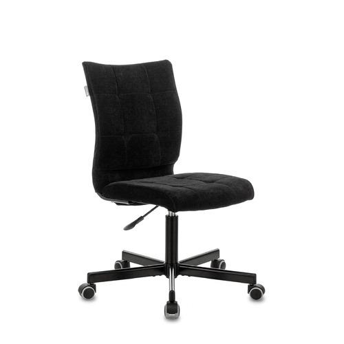 Кресло БЮРОКРАТ CH-330M, на колесиках, ткань, черный [ch-330m/lt-20]