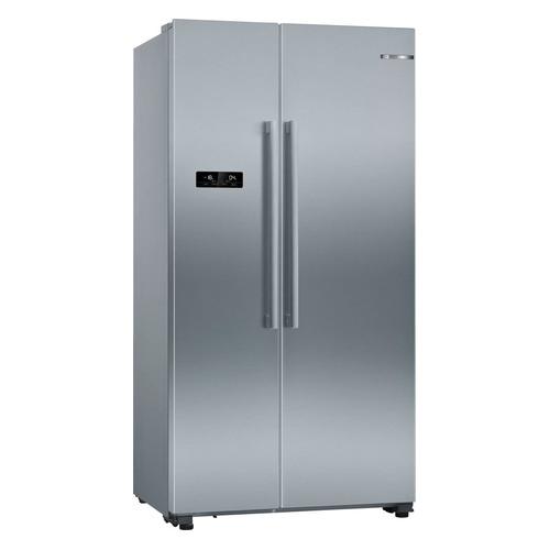 Холодильник BOSCH KAN93VL30R, двухкамерный, нержавеющая сталь встраиваемый холодильник side by side kuppersbusch kei 9750 0 2 t сталь