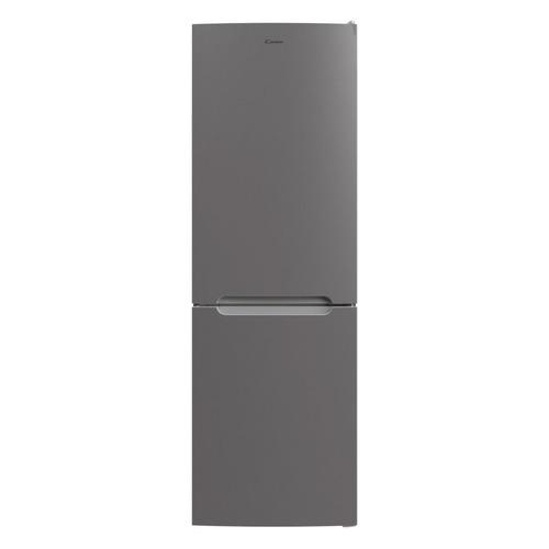 Холодильник CANDY CCRN 6180S, двухкамерный, серебристый