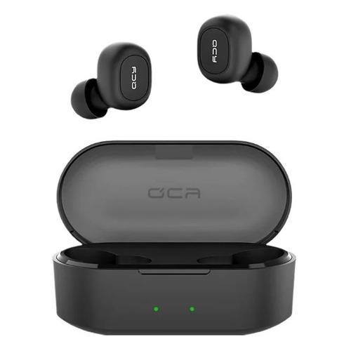 Фото - Наушники с микрофоном QCY T2S, Bluetooth, вкладыши, черный t2s