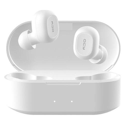 Фото - Наушники с микрофоном QCY T2S, Bluetooth, вкладыши, белый t2s