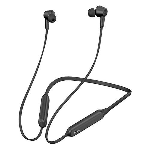 Наушники с микрофоном QCY L2, Bluetooth, вкладыши, черный цена 2017