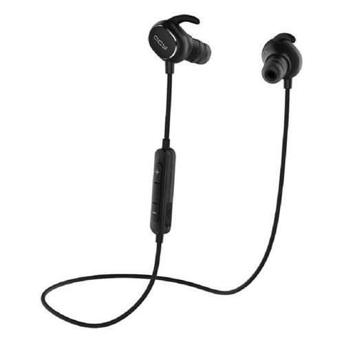 Наушники с микрофоном QCY QY19, Bluetooth, вкладыши, черный цена 2017