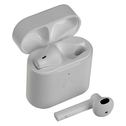 Гарнитура QCY T7, Bluetooth, вкладыши, белый недорого