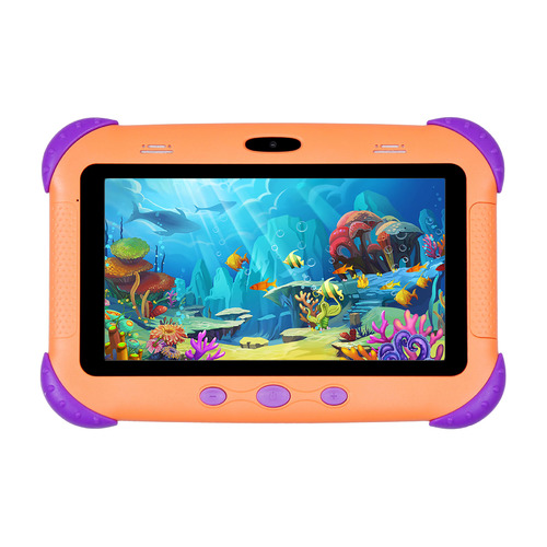 Детский планшет SUNWIND Sky Kids 70, 1GB, 16GB, 3G, Android 10.0 Go разноцветный [ss7238pg] 7 inch 1 din android 8 1 car stereo radio multimedia mp5 player rotation adjustable 4 core 1gb 16gb gps wifi bluetooth fm am