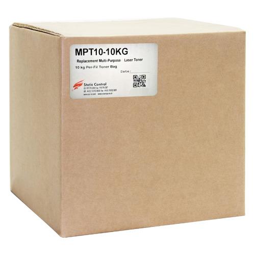 Тонер STATIC CONTROL MPT10-10KG, для НР LJ P1005/1006/1505/ 1606/ P1102/1322/M125, черный, 10000грамм, пакет MPT10-10KG по цене 7 680