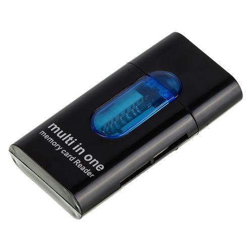Фото - Картридер внешний REXANT черный [18-4111] тематические словосочетания и идиомы flash cards