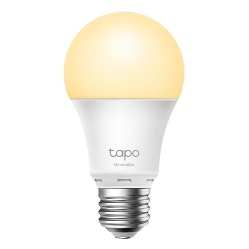 Умная лампа TP-Link Tapo L510E E27 8.7Вт 806lm Wi-Fi камера видеонаблюдения tp link tapo c200 1080p 4 мм белый