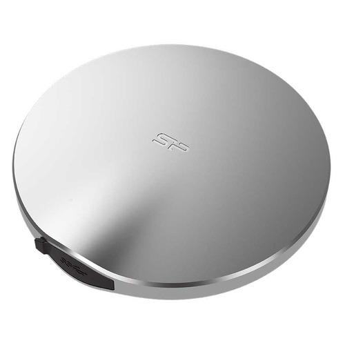 Внешний диск SSD SILICON POWER B80 SP256GBPSDB80SCS, 256ГБ, серебристый