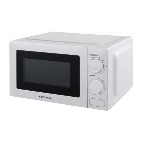 Фото - Микроволновая печь Supra 20MW20, 700Вт, 20л, белый микроволновая печь свч supra 20mw55