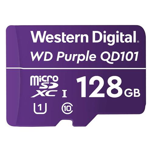 Фото - Карта памяти microSDXC UHS-I U1 WD Purple 128 ГБ, Class 10, WDD128G1P0C, 1 шт. осциллограф owon p6100 100mhz 10 1