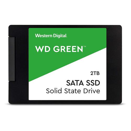 SSD накопитель WD Green WDS200T2G0A 2ТБ, 2.5 , SATA III  - купить со скидкой