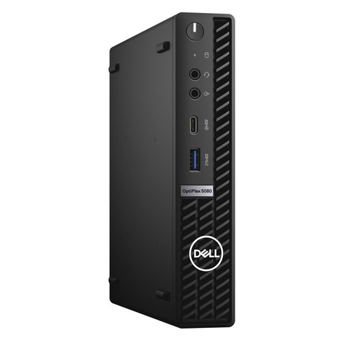 Компьютер DELL Optiplex 5080, Intel Core i5 10500T, DDR4 8ГБ, 256ГБ(SSD), Intel UHD Graphics 630, Windows 10 Professional, черный [5080-6451]
