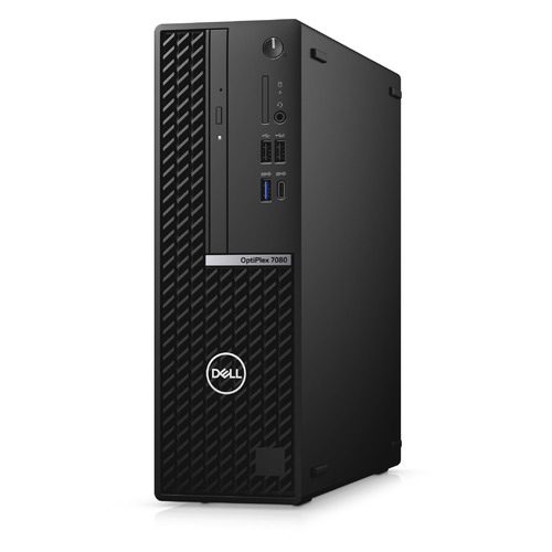 Фото - Компьютер DELL Optiplex 7080, Intel Core i5 10500, DDR4 8ГБ, 256ГБ(SSD), Intel UHD Graphics 630, DVD-RW, CR, Windows 10 Professional, черный [7080-6864] моноблок lenovo v530 22icb 21 5 intel core i5 9400t 8гб 256гб ssd intel uhd graphics 630 dvd rw windows 10 professional черный [10us00j5ru]