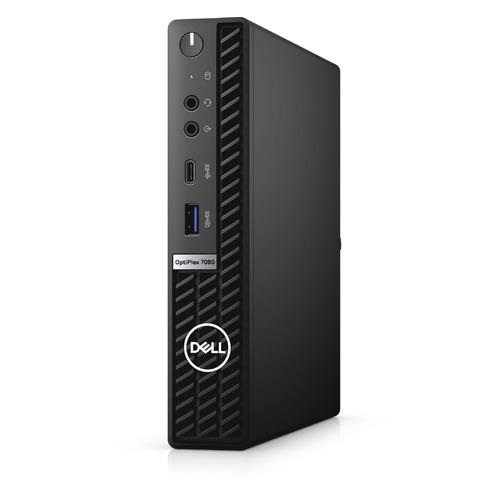 Компьютер DELL Optiplex 7080, Intel Core i7 10700, DDR4 8ГБ, 256ГБ(SSD), Intel UHD Graphics 630, Linux, черный [7080-6895] компьютер