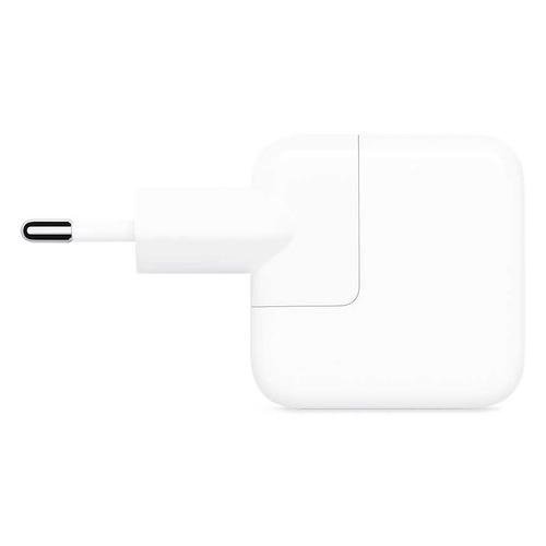 Сетевое зарядное устройство APPLE MGN03ZM/A, USB, 2A, белый