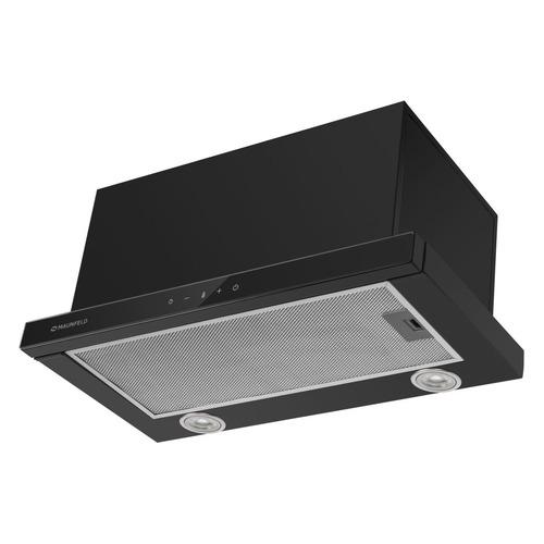 Вытяжка встраиваемая Maunfeld TS Touch 60 черный управление: сенсорное встраиваемая вытяжка maunfeld ts touch 50 glass black