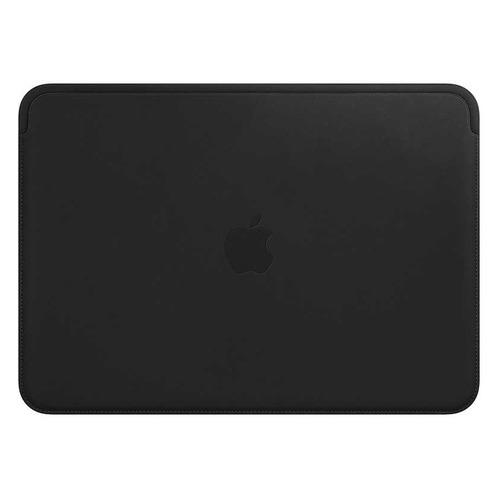 Чехол для ноутбука 12 APPLE Leather Sleeve, черный, MacBook 12 [mteg2zm/a] apple leather sleeve для macbook pro 16 черный