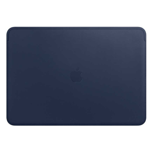 Чехол для ноутбука 15 APPLE Leather Sleeve, темно-синий, MacBook Pro 15 [mrqu2zm/a] apple leather sleeve для macbook pro 16 черный