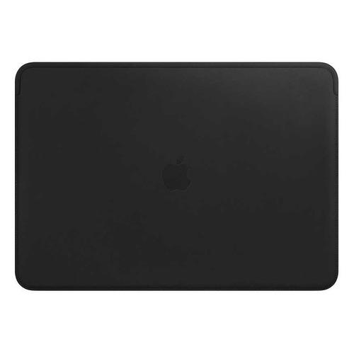 Чехол для ноутбука 15 APPLE Leather Sleeve, черный, MacBook Pro 15 [mtej2zm/a] apple leather sleeve для macbook pro 16 черный