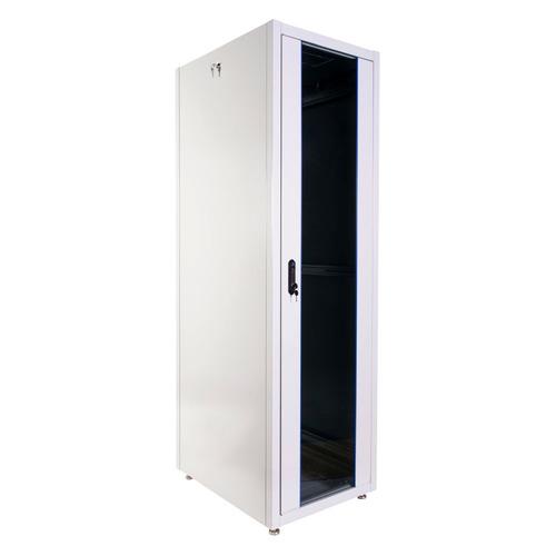Шкаф коммутационный ЦМО (ШТК-Э-42.6.8-13АА) напольный 42U 600x800мм пер.дв.стекл металл 2 бок.пан. 7