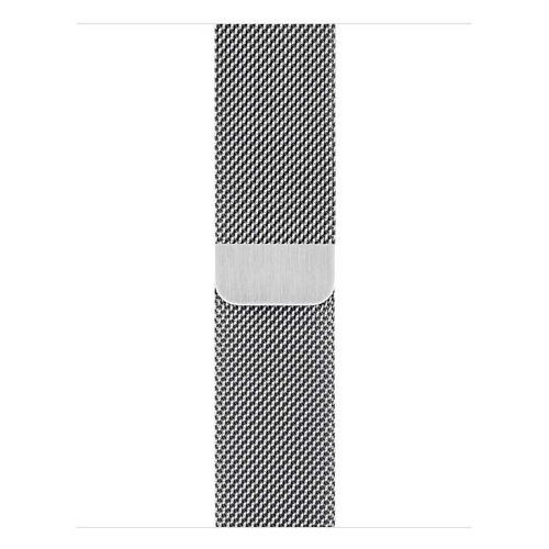 Фото - Ремешок Apple Milanese Loop для Apple Watch Series 3/4/5/6/SE серебристый (MTU22ZM/A) 40мм ремешок apple milanese loop для apple watch series 3 4 5 6 se графитовый myaq2zm a 44мм